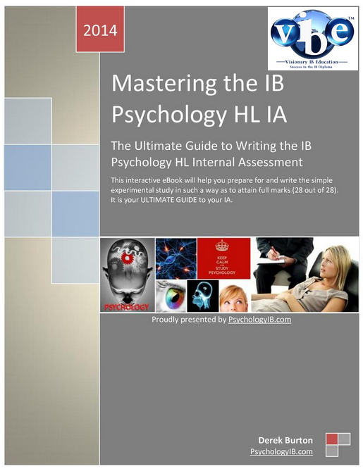 ib psychology coursework guide